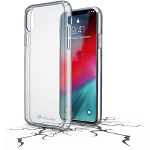 pouzdro na mobil Pouzdro Cellularline Clear Duo Apple iPhone Xr