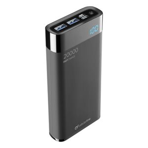Cellularline powerbanka Freepower Manta Hd 20000mAh, Smartphone Detect, Usb-c + 2xUSB port, černá (FREEPMANTA20HDK)