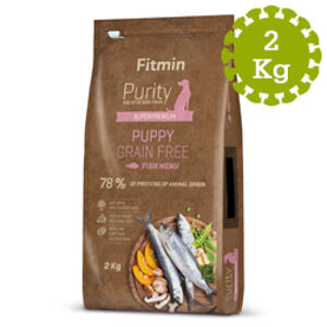 Fitmin dog Purity Grain Free Puppy Fish 2 kg
