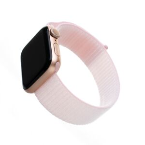 Nylonový řemínek Fixed Nylon Strap pro Apple Watch 40mm/ Watch 38mm, růžový