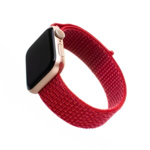Nylonový řemínek Fixed Nylon Strap pro Apple Watch 40mm/ Watch 38mm, červený