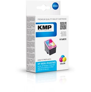 Kmp inkoust H168cx (HP 302 Tri-colour Xl)