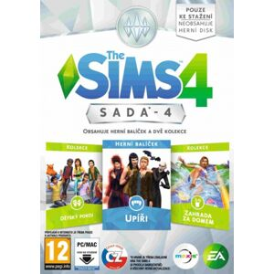 Pc hra The Sims 4: Bundle Pack 4 (PC)