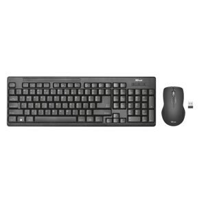 Trust klávesnice Ziva Wireless Keyboard with mouse 22122